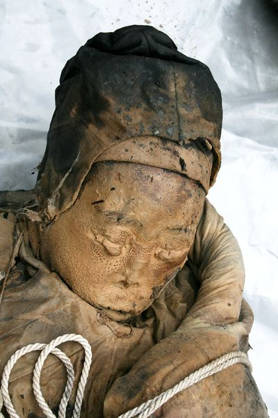 The wet mummy