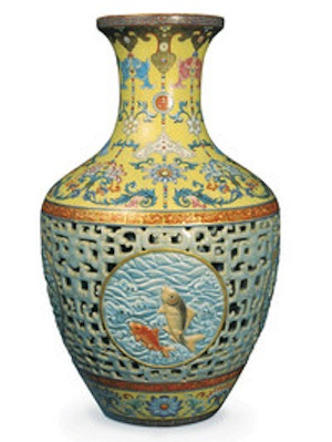 20thc Chinese Vase Sells For $18m
