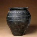 Primitive Black Earthenware