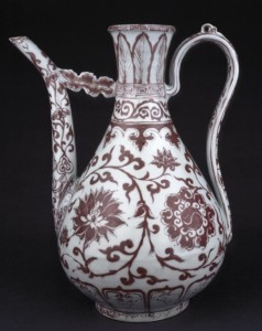 Copper Red Decorated Ewer – The Percival David Collection