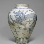 Korean 18thc Dragon Jar @ Christie's September 11