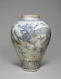 Korean 18thc Dragon Jar @ Christie's September 11