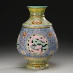 500k Qianlong Revolving Vase Sothebys Fine Chinese Ceramics & Works of Art - New York | 11 - 12 September 2012