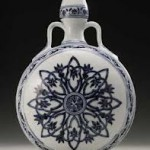 Yongle moon flask used as a doorstop sells for $1.3 million