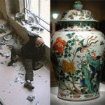 Smashed Kangxi Vase Back On Display