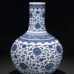Rare Yongzheng blue and white vase to be sold at Bonhams in December