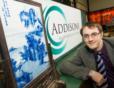 Chinese porcelain valued at £150 sells for £34,300 at Barnard Castle auction