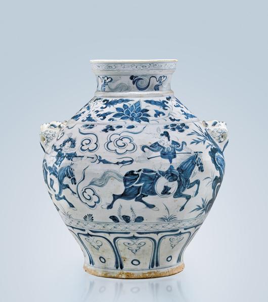 Million-dollar Yuan jar leads I.M. Chait Mar. 17 Asia Week