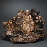 Tang Ying Soapstone Figural Carving Sells For $2,235,000
