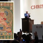Collector Liu Yiqian buys Tibetan thangka for record price of $45,124,409