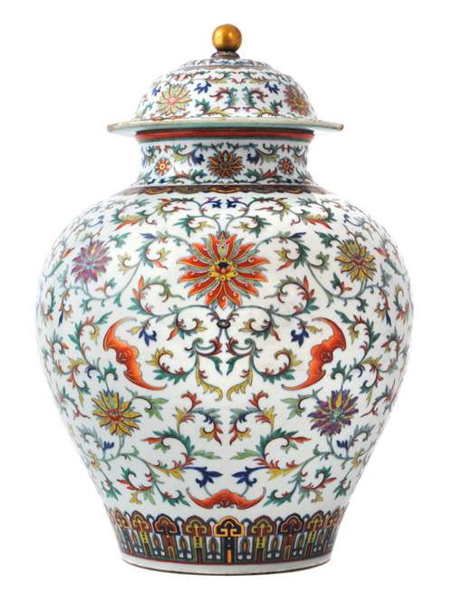 Peter Wison Qianlong Ghostbuster Vase Sells For £350,000
