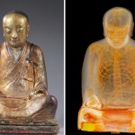 Ancient mummified monk found inside golden Buddha