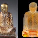 Ancient mummified monk found inside golden Buddha
