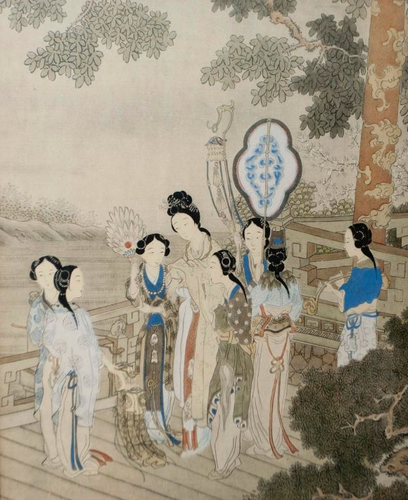 A good pair of Chinese paintings