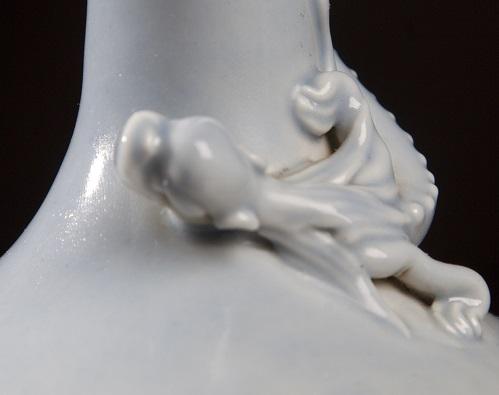 A Clair De Lune Dragon Vase