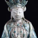 An Outstanding Biscuit Figure Of Guanyin