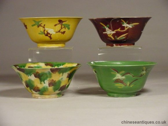 Chinese Porcelain - Qing Dynasty Susancai Examples
