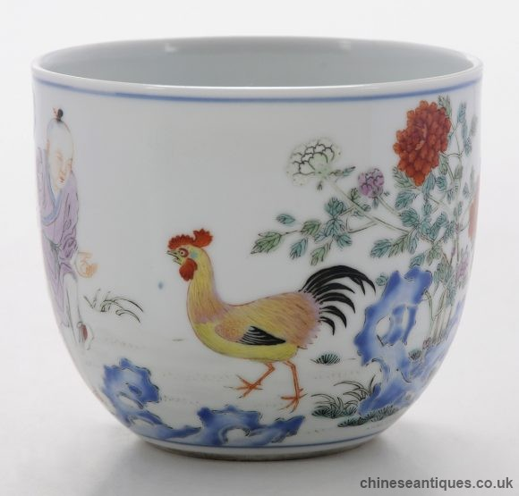 Year Of The Rooster - Qianlong Rooster Cup Sells For $180,000