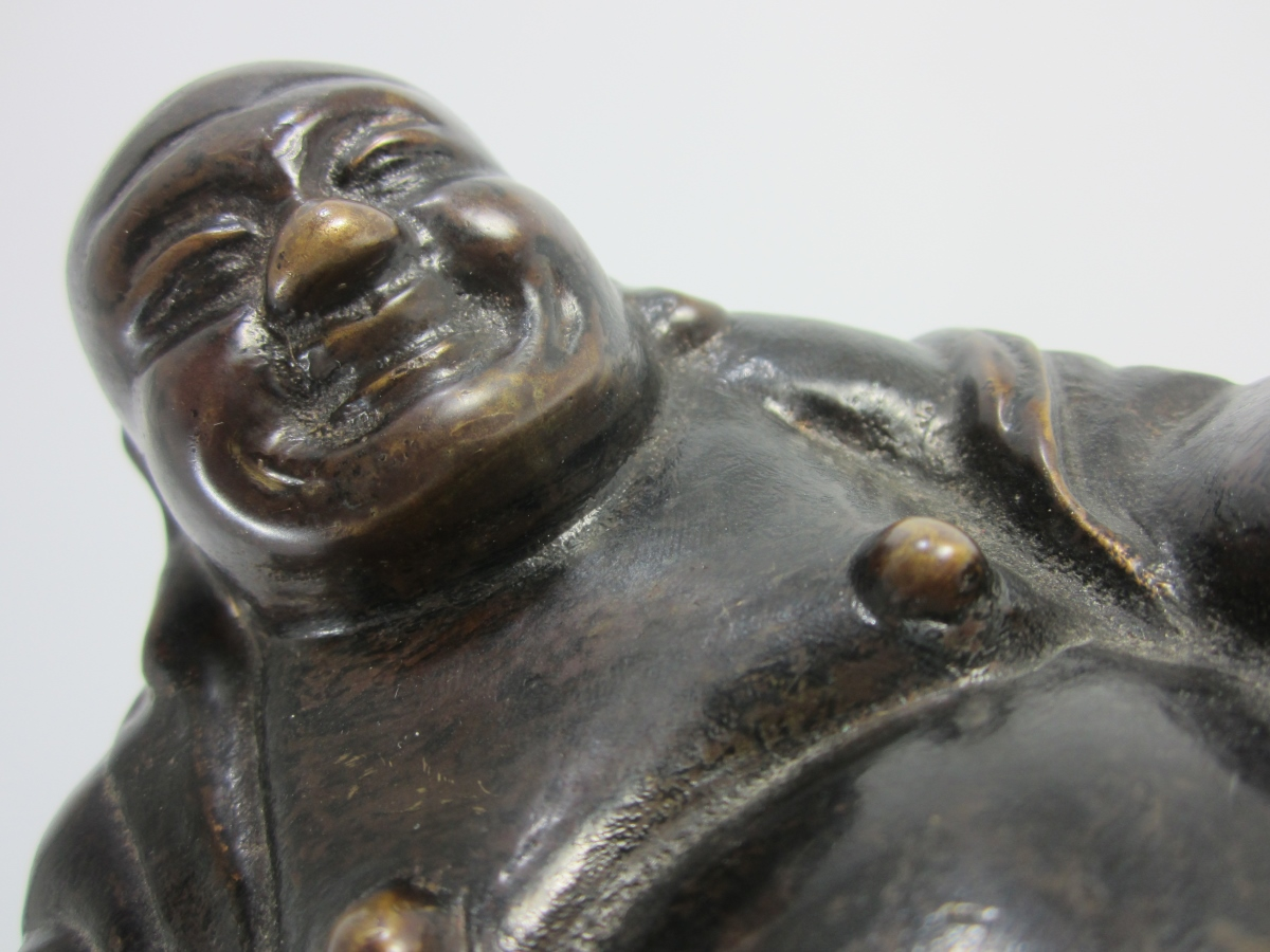 A Bronze Figure Of Budai – Recent Buy