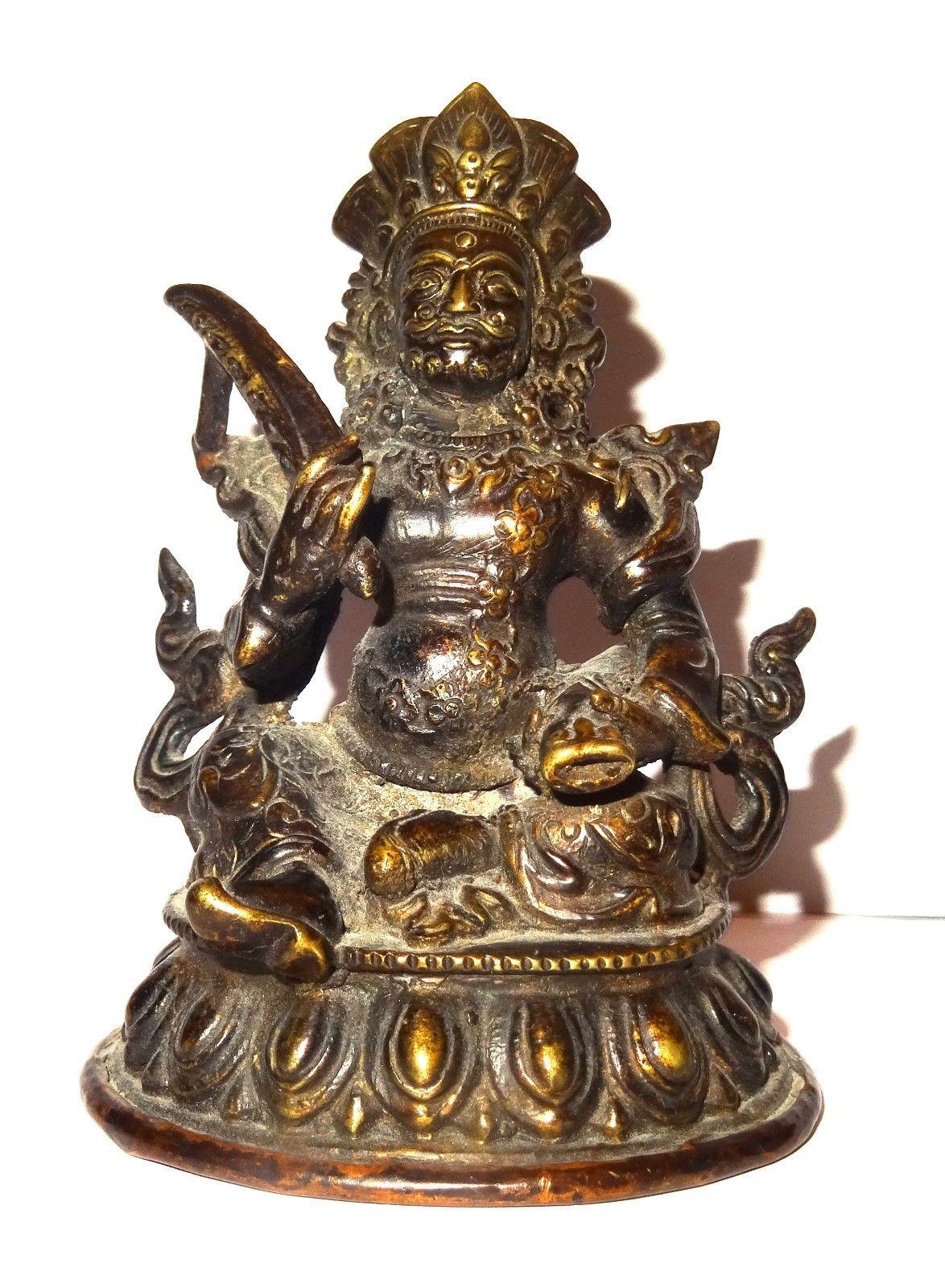 Recent Buy In Europe – A Good Bronze Figure Jambhala