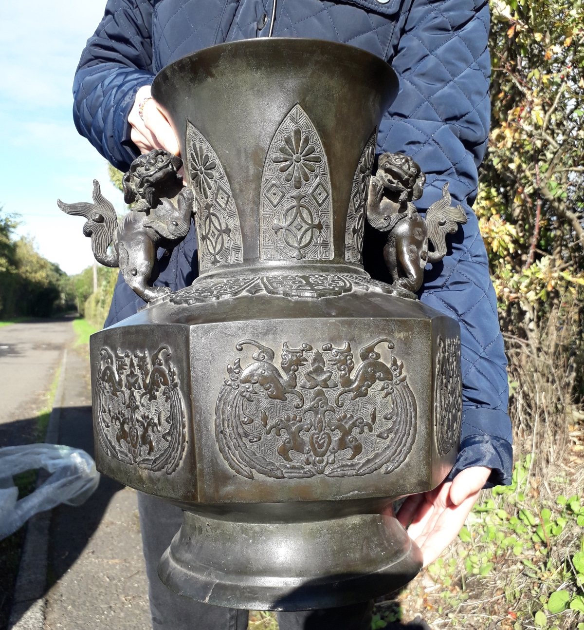A Large Archaic Bronze Vase – Recent Buy