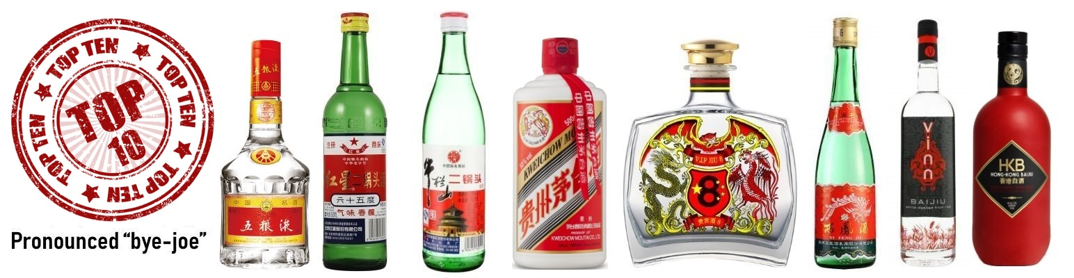 Baijiu: Best Selling Chinese Baijiu Brands In The World