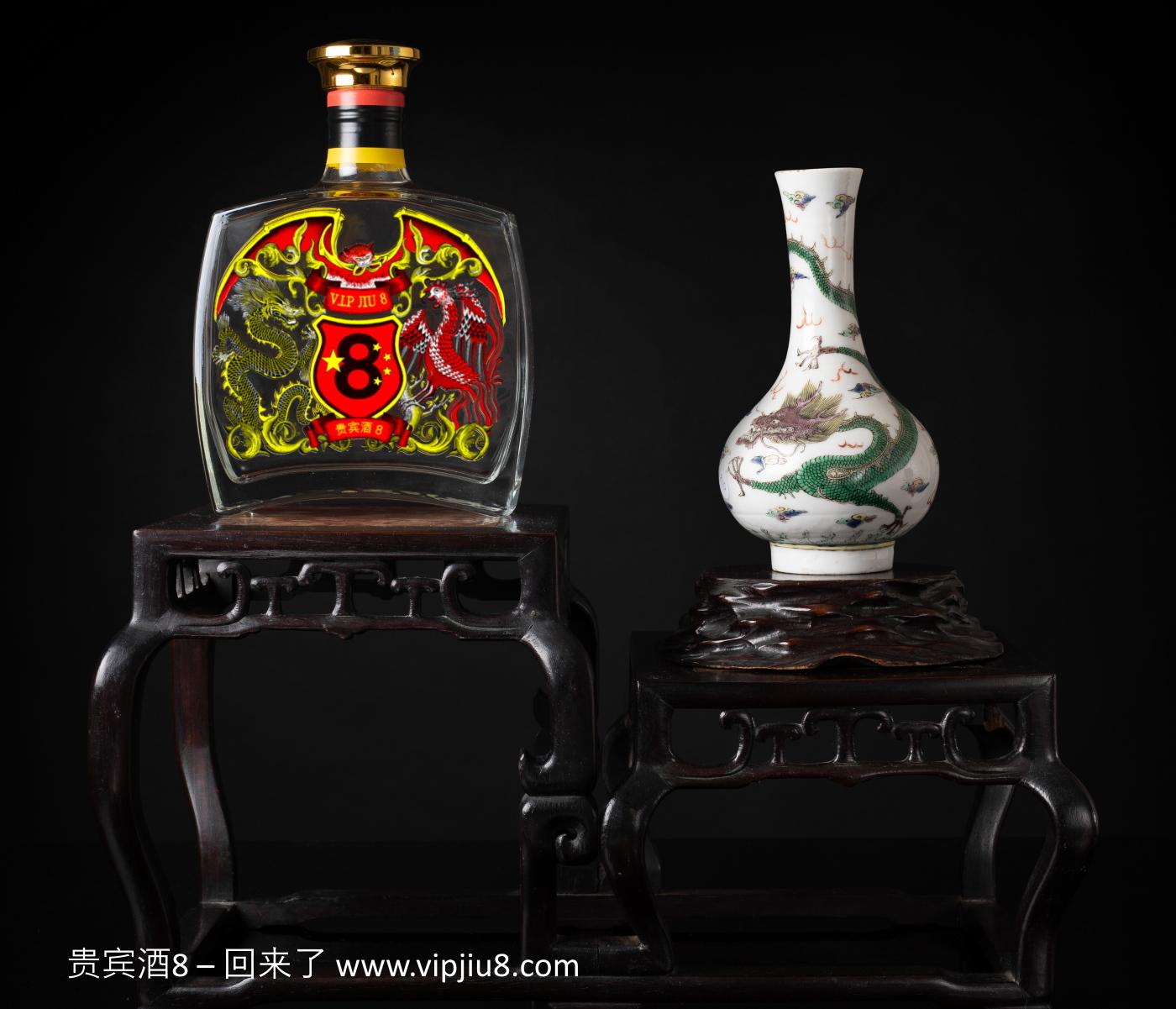 Famille Verte Anhua Dragon Vase