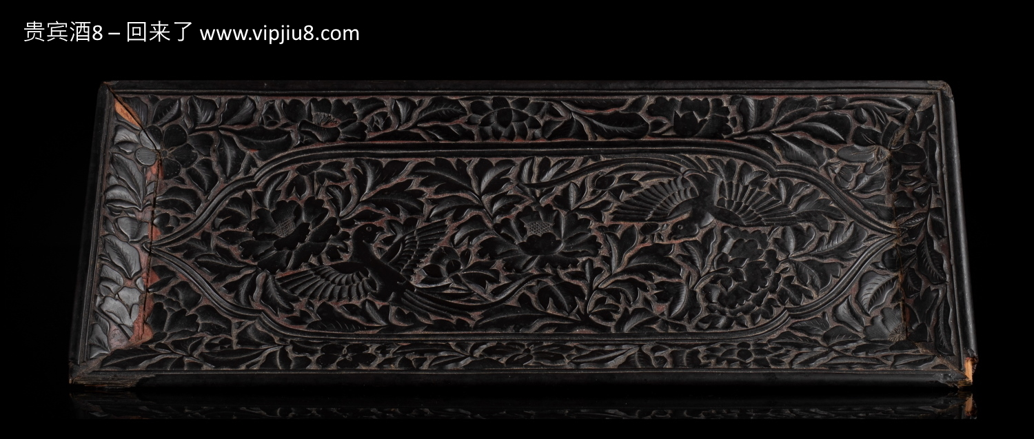 An Immensely Rare Yuan Dynasty Lacquer Scroll Tray