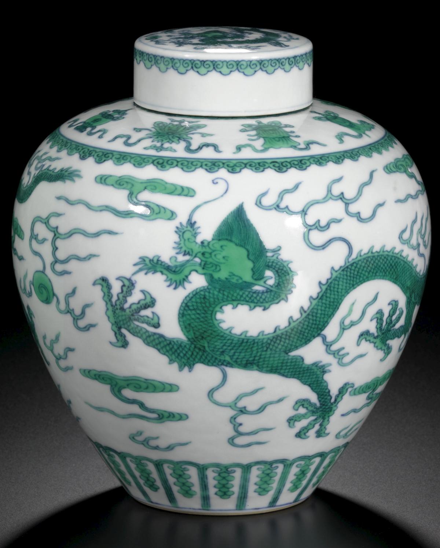 Qianlong Doucai Jar