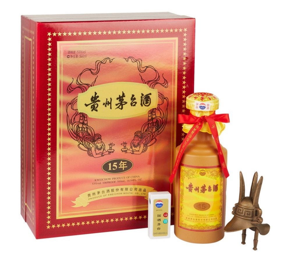 15 Year Old Moutai Baijiu