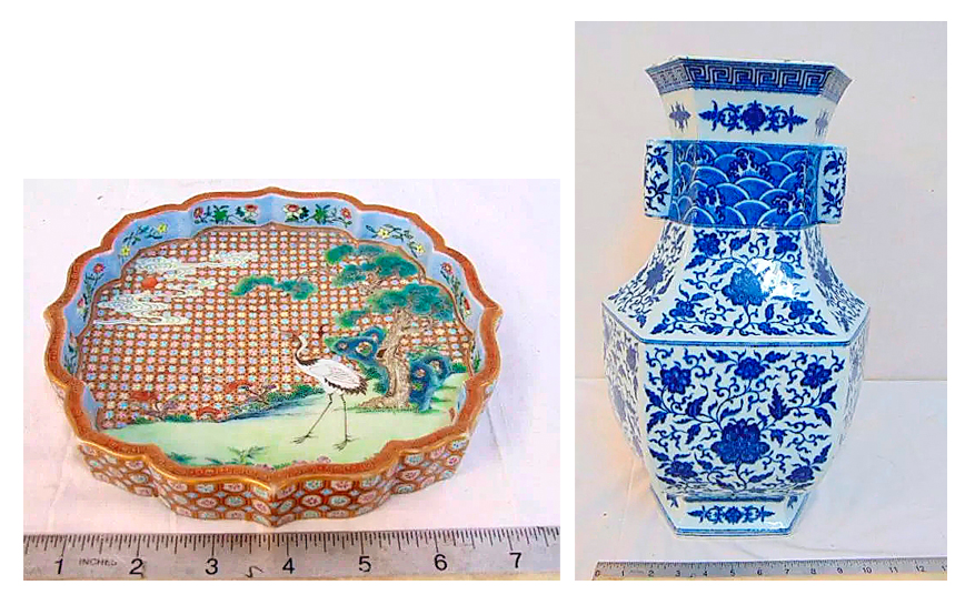 Two Pieces Of Chinese Porcelain Fetch $118,750 And $55,000 In The States