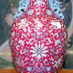 Qianlong Ruby Ground Vase Breaks Auction House Records